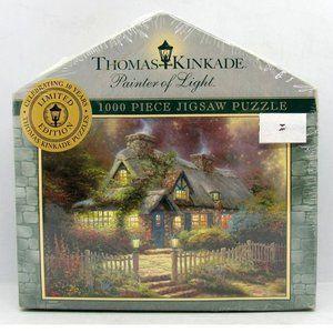 Thomas Kinkade Teacup Cottage 1000 Jigsaw Puzzle